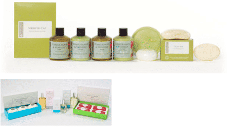 cosmetic gift set assembly